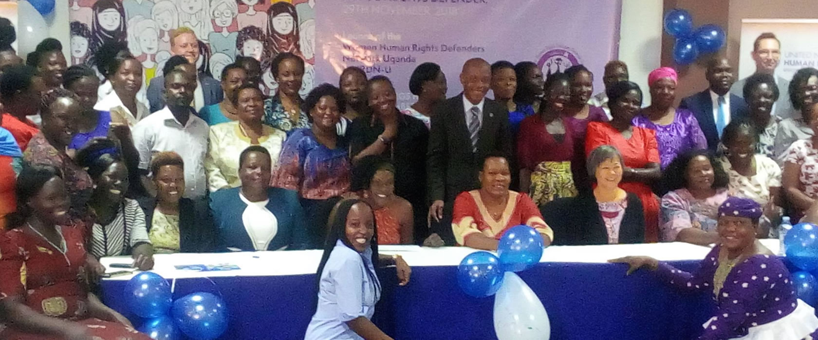Launch of the Women Human Rights Defenders Network