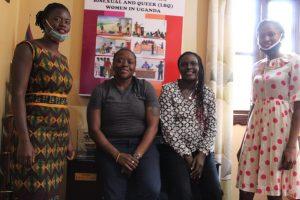 WHRDN-U  meets  Joanita Nkali of FARUG, a WHRD defending the rights of the LBTQ women in Uganda.