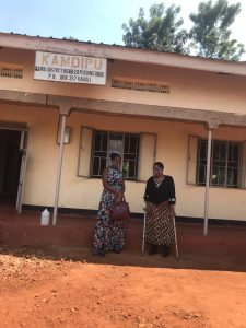 The Assistant protection and response officer conducted a solidarity visit to Joy Nekesa a woman defender for rights of women and girls living with disability and  HIV/AIDs in Kamuli district.