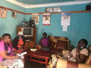 Meeting Joy, Women defender with disability from Hoima District Association Of the Blind