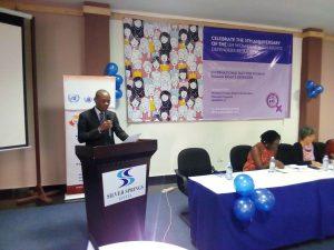 Opening Remarks from the Office Of The Human Rights Uganda representative Mr Robert Ayeda Kotchani