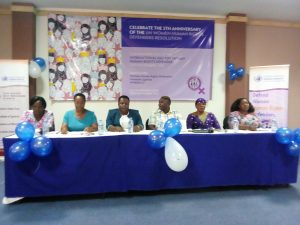 Panel discussion on the different challenges Women Human Rights Defenders face in their line of work