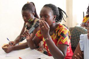 Christine Achom, a Woman Human Rights Defender from Tororo appreciates the gender aspect integrated ino the bill