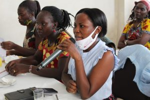 Jolly Mbambu, a female journalist from Kasese speaks on the challenges she faces as a female journalist