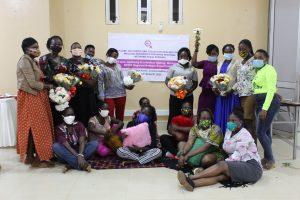 Women Human Rights Defenders Network Uganda group photo