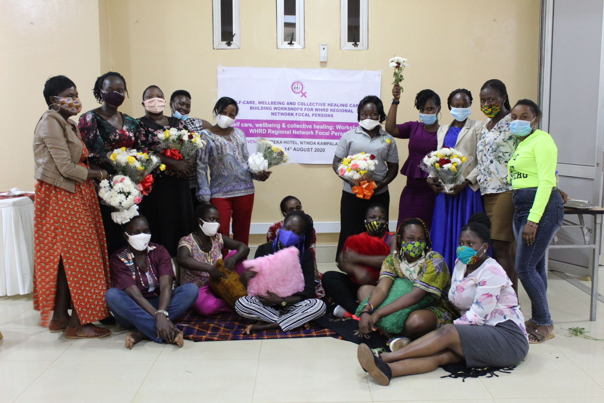 Women Human Rights Defenders Network Uganda group photo